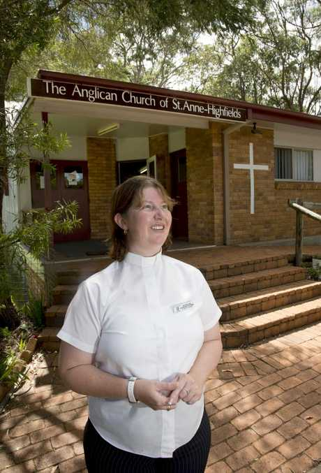 Reverend Stephanie Patching of the Anglican Church of St Anne's-Highfield has watched the Highfields community grow in recent years.