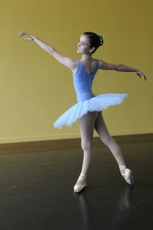 Tabitha Buttsworth has excelled at dance and music.