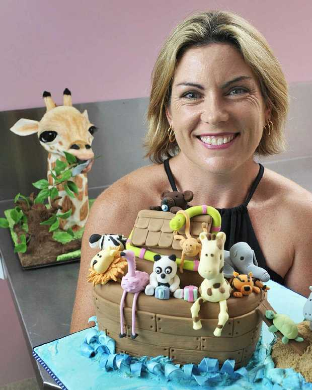 REAL SWEET ART: Ipswich Cake Decorators Association president Katie Young is inviting people to attend the open day on March 23.
