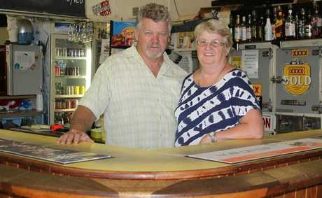 Greg and Cheryl Daley have returned to the Quinalow pub after previously owning it 20 years ago.