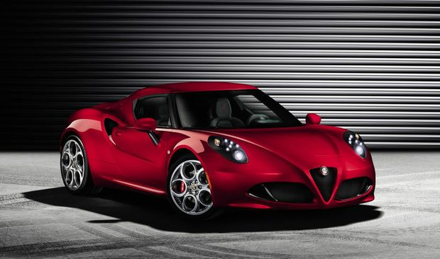 The sexy Alfa Romeo 4C is set to arrive early next year.