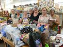 GYMPIE patchworkers have packed loads of care into a special delivery heading for flood-devastated Bundaberg.