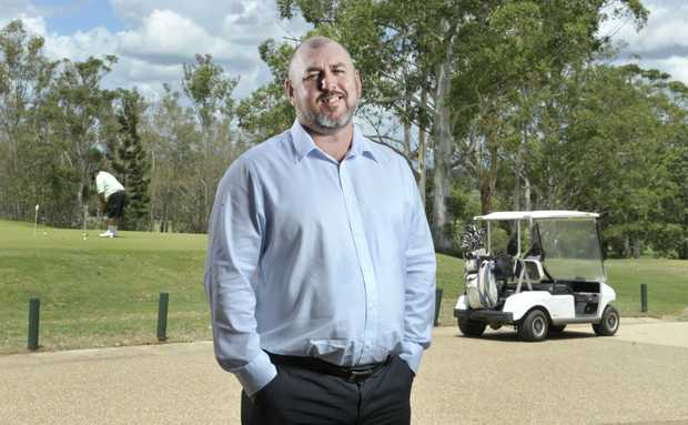 Ipswich Golf Club's new general manager Steve Day. Photo: Rob Williams / The Queensland Times
