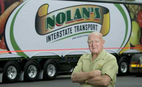 Terry Nolan of Nolan's Interstate Transport says any unrealistic toll placed on the proposed Range bypass would see the transport operators boycott the road.
