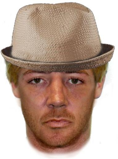 Police have released a comfit of a man wanted in relation to an armed robbery with violence at Cotton Tree this morning.