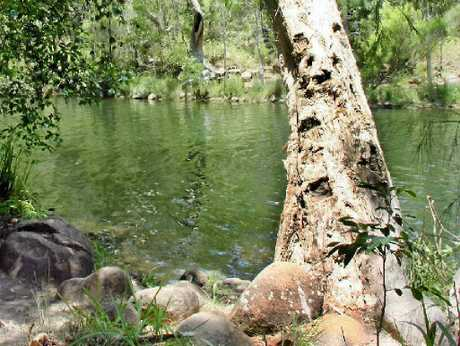 PLACE OF BEAUTY: Upper Stony Creek in CQ's Byfield National Park.