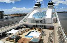 WOW FACTOR: The pool and whirlpools are a popular spot on Seabourn Quest.