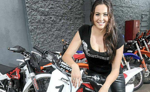 Kaziah Holloway, 18, will be in Alice Springs for the Tatts Finke Desert Race.