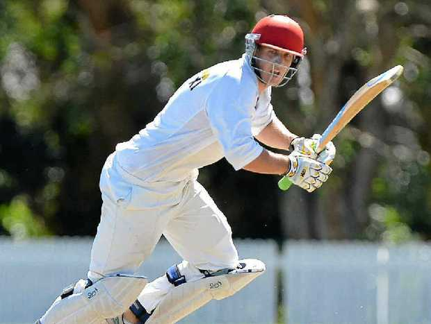 Gympie batsman Kaden Dickfos helped steer the Gold to victory with 93.