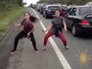 Bruce Hwy dance goes viral
