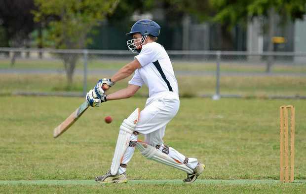 Allora batsman Nick Morris.