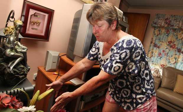 Dianne Costa had her house broken into and many items were stolen such as jewellery and an Xbox. Photo: Inga Williams / The Reporter