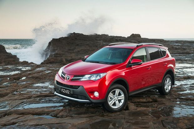 The Toyota RAV4's range topping Cruiser model.