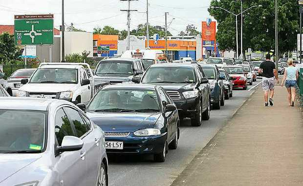 Traffic volume on Ipswich roads is expected to skyrocket.