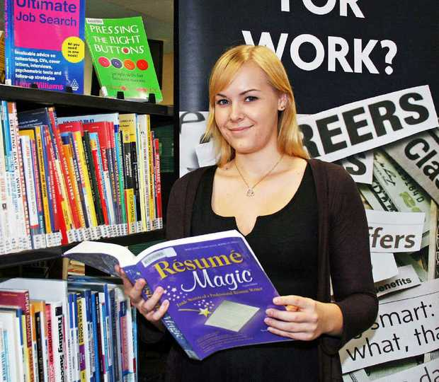 WORK WONDERS: Ipswich residents can pick up some job-hunting hints at a workshop held at the Ipswich Library.