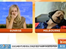 Sunrise presenter Grant Denyer passes out on air