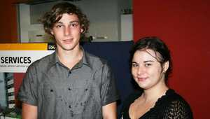 Ryan Ball and Lena Paxeranos.