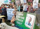 70 turn out to fight plan to outsource university hospital