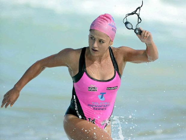 Mooloolaba ironwoman Amy Nurthen says she has to be error-free on Sunday.