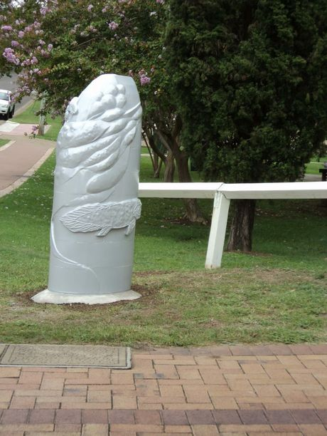 The sculpture at Kenilworth