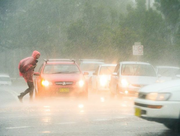 Queensland motorists must not consider crossing roads or waterways hit by floodwaters.