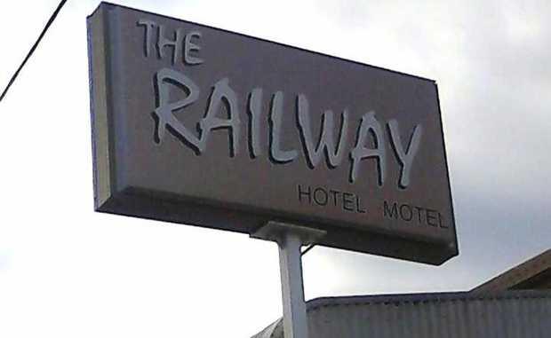 Railway Hotel in Goondiwindi.