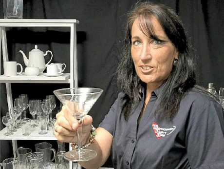CAREER CHANGE: Jo Lawrence is the office manager at Toowoomba Party Hire.
