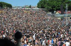 Huge numbers of people attended Soundwave 2013 at the RNA showgrounds in Brisbane.