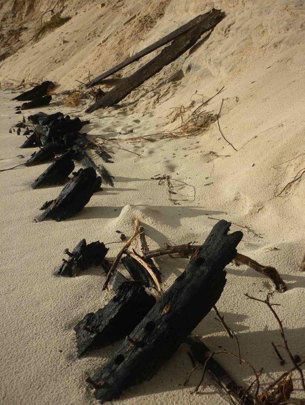 Wreck at Belongil.