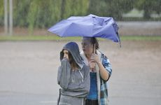 Toowoomba was drenched yesterday with more than 100mm falling across the city.