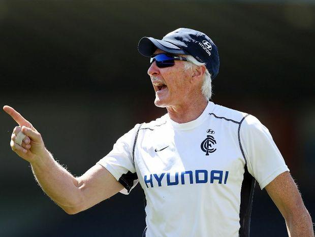 Carlton Blues coach Michael Malthouse.