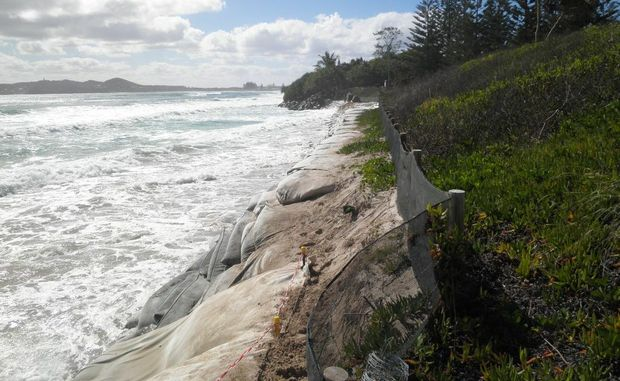 King tides and recent weather has left Byron with much to clean up