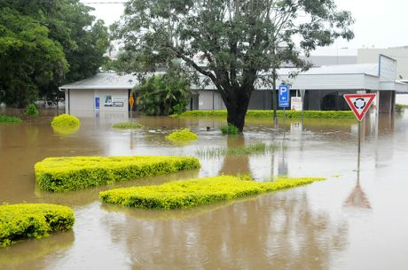 Flooding in Gympie