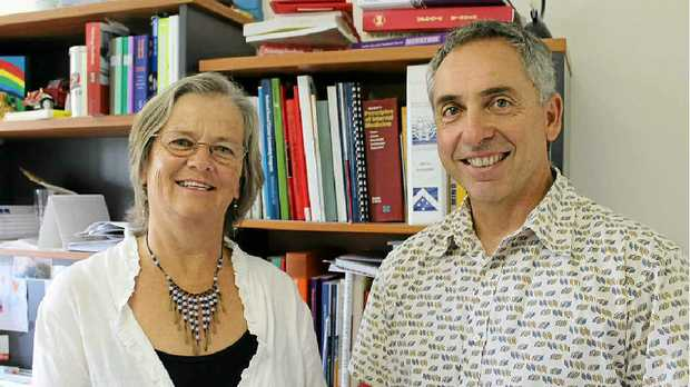 POWER OF STORIES: Susan Perrow and Lennox Head GP Dr Hilton Koppe, who will present workshops on storytelling at a conference in the US.