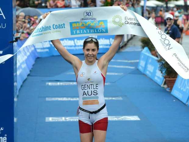 2012 Noosa Triathlon Elite women's winner Ashleigh Gentle.