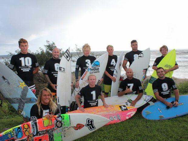 Competitors at the Carlton Dry Expression Session.