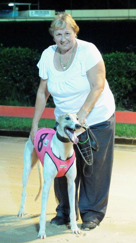 Evelyn Harris enjoyed a win at Tuesday's Lismore meeting with Mighty Bonus. She has a couple of runners in action at Casino tomorrow.