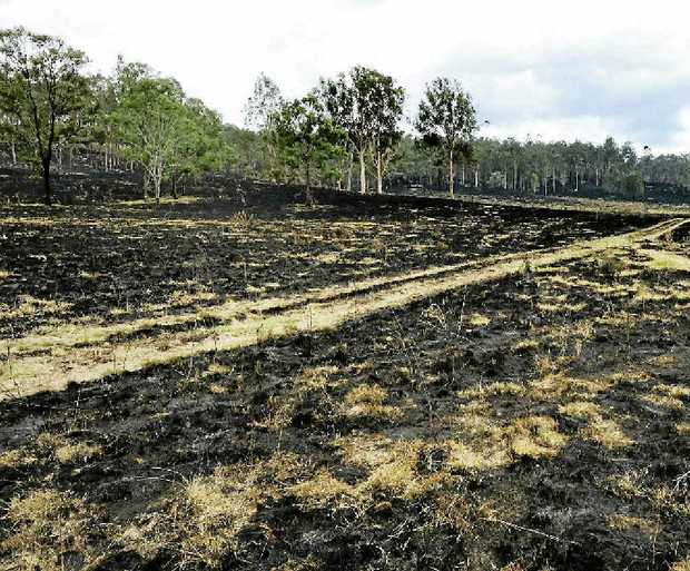 BIG DRY: Bushfires have wiped out a million hectares of grazing country in the far west of Queensland.