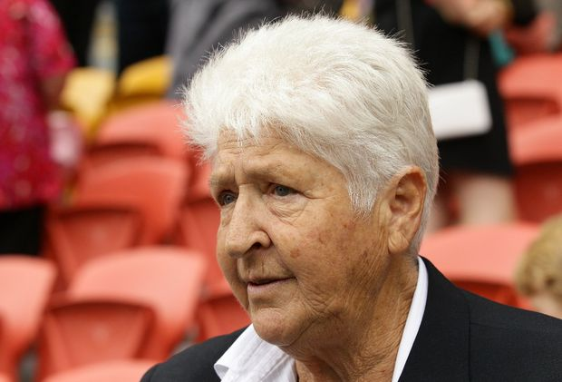 Former Australian swimming great Dawn Fraser.