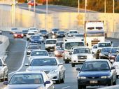 A CRASH on the Ipswich Motorway at Goodna caused some delays for Brisbane-bound motorists on Friday morning.