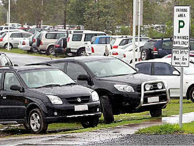 Parking hassles at the start of another year at the University of the Sunshine Coast.