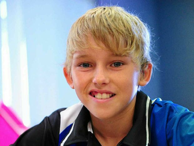 BRAIN EXERCISE: Nathan Laver, 12, competes in the Queensland Interschool Chess Tournament, CQ University, Gladstone.