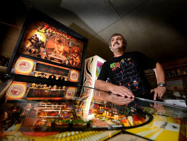 Peter Watt is a Pinball wizard.