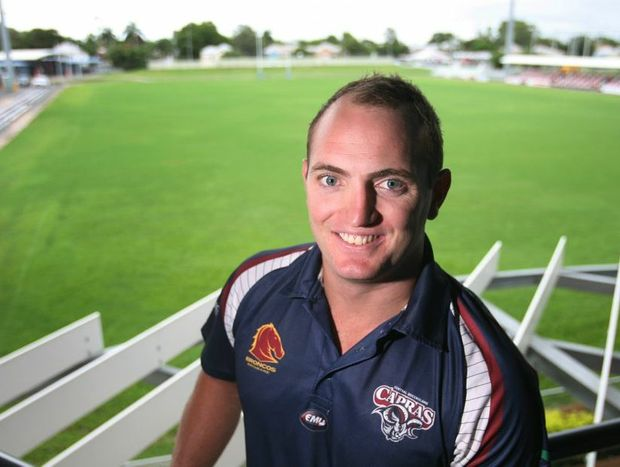 Gavin Hiscox has been named as captain of the Central Queensland Capras. Photo: Chris Ison / The Morning Bulletin