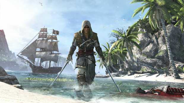 Art from the upcoming Assassin's Creed 4.