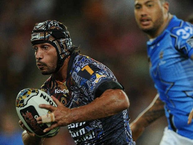 Johnathan Thurston was in sparkling form last month and is looking to take the Cowboys to a win over the Barba-less Bulldogs.