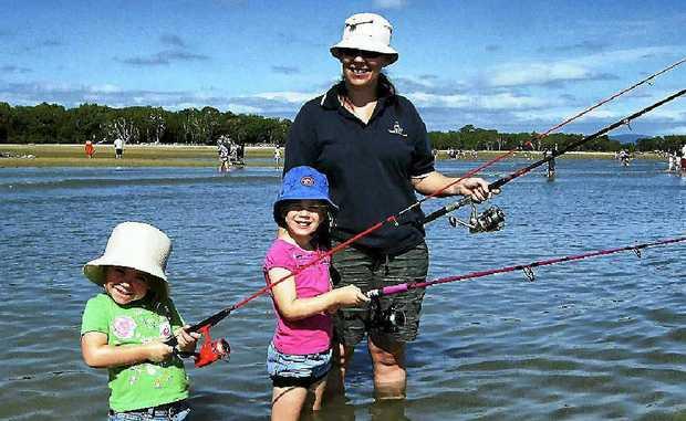 Take your kid fishing this sunday sunshine coast daily for Take a kid fishing