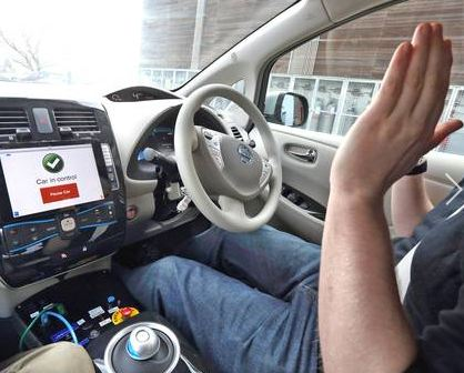 "Sitting in the passenger seat as your driver lifts his arms away from the wheel and gleefully says ""look, no hands"" should be an unsettling experience."