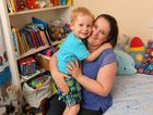 Margaret Murphy with her son Thomas, 4, who has cerebral palsy. Margaret is organising a fundraiser for the Sunshine Coast Children's Therapy Centre in Nambour. Photo: Brett Wortman / Sunshine Coast Daily