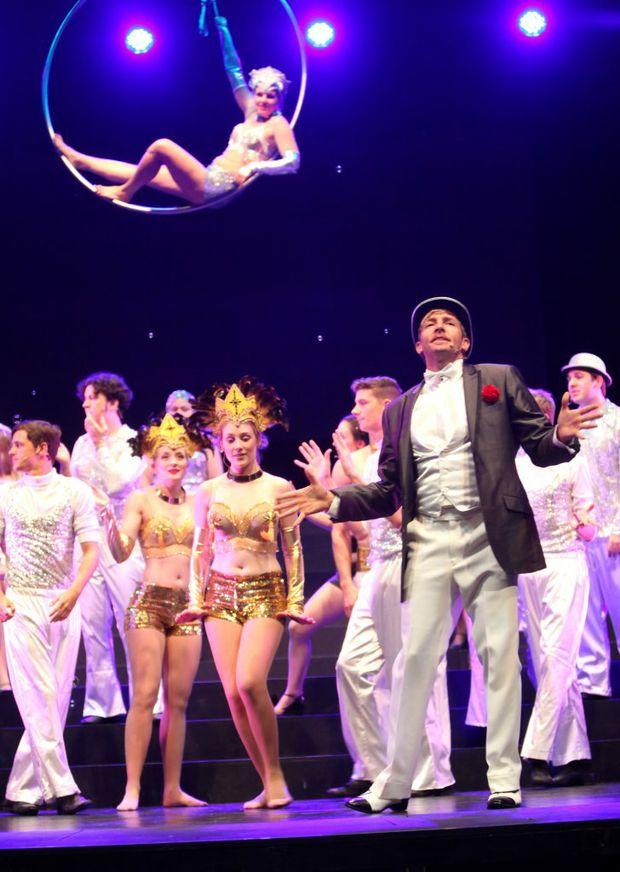 Cast of Chicago. Photo Allan Reinikka / The Morning Bulletin